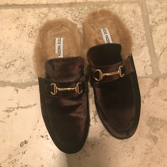 new photos new list good quality Steve Madden Gucci look alike mules